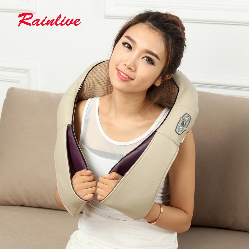 Massage cape massage shawl cervical neck shoulder kneading massage device women beauty care massage instrument home car Dual use(China (Mainland))