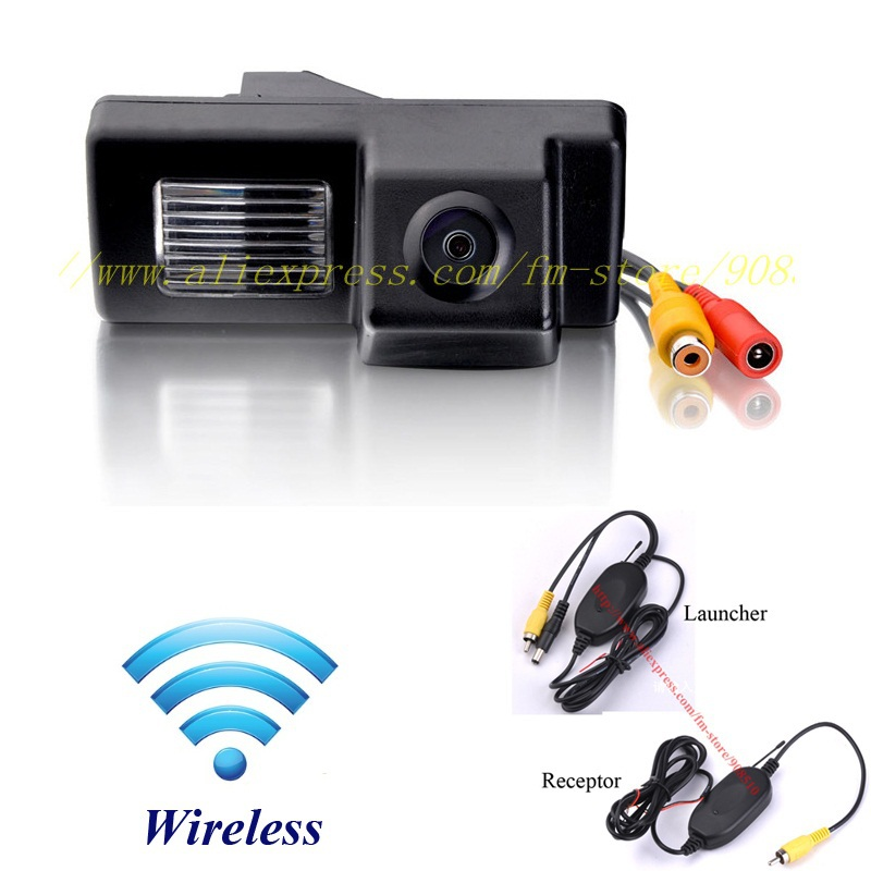 DIY toyota land cruiser landcruiser wireless/no wire wifi car/auto backup rear view/rearview reverse camera/camara/kamera(China (Mainland))