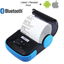 Buy 80mm Portable Android IOS Bluetooth Thermal Printer Receipt Printer Mobile Phone POS Printer supermarket Ticket Print for $74.82 in AliExpress store
