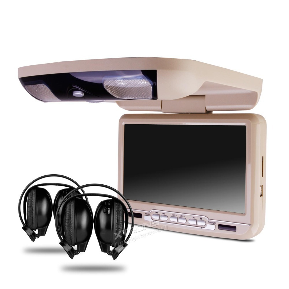 Overhead DVD Player Roof mount DVD players - DVD Flip down for