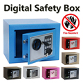 Digital safe box Fire Proof Ideal to Guard Valuables Secret At Home while Travel Storage Jewellery