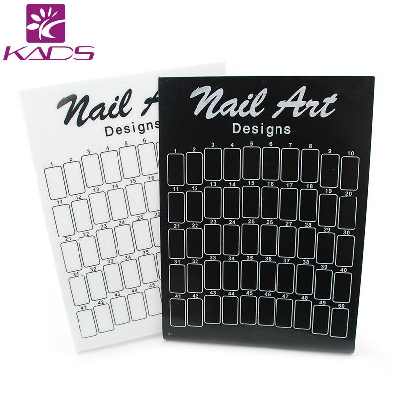 Wholesale 50pcs/lot Original Nail Art False Nail Salon Exhibition Stand Board Demo Display tool Essentials<br><br>Aliexpress