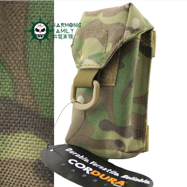 Outdoor Men 1000D Nylon Mobile Phone Case Sports Cordura Tactical Waist Pack Waterproof Army Molle Cellphone Bags Cover Pouches(China (Mainland))