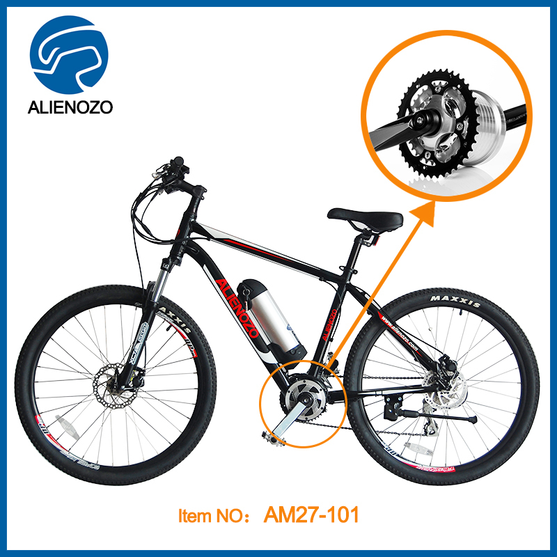 electric mountain bike with brushless mid motor high quality Germany design(China (Mainland))