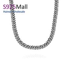 2016 Titanium fashion chain free shipping 316L stainless steel vintage necklace wholesale men wedding gift jewelry free shipping(China (Mainland))