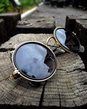 Round New Fashion glasses Men Women Trend Sunglasses Frog mirror UV Protection coating Sun Glasses Eyewear goggles Accessories