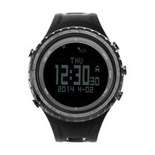 Sunroad FR801 Pedometer Altimeter Thermometer Multi Function LCD Display Outdoor Sports Watch(China (Mainland))