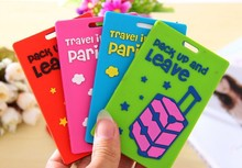 New popular Travel Accessories Luggage tag portable suitcase bag tag mixproof security 2050DM(China (Mainland))