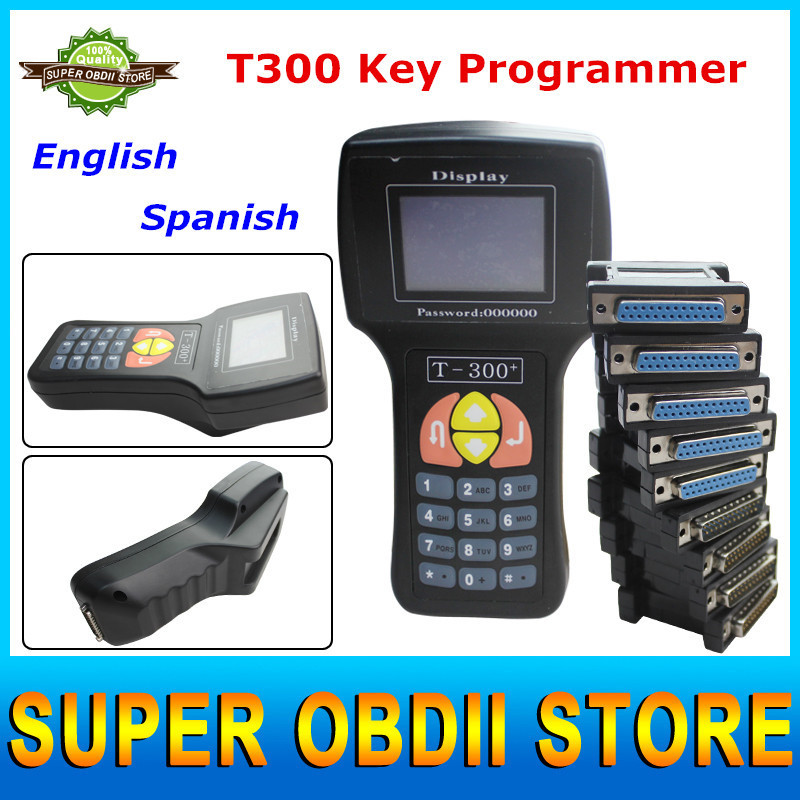 2015 Newest V15.8 Version T300 Key Programmer Support Multi-brands Cars Use For Car Key Programming Can Do Anti-theft Matching(China (Mainland))