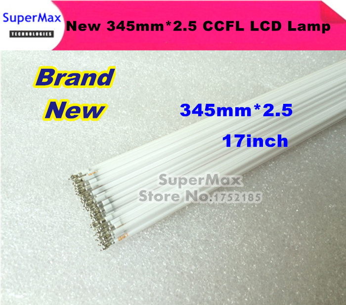 "50PCS/LOT Supper Light CCFL 345 mm*2.5 mm 17"" 4:3 LCD Backlight Lamp(China (Mainland))"