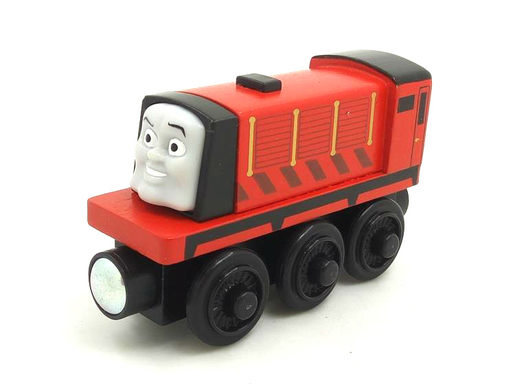 RARE NEW Thomas And Friends Wooden Magnetic Railway Model talking Train Engine Track Boy / Kids Toy RED TRAIN(China (Mainland))
