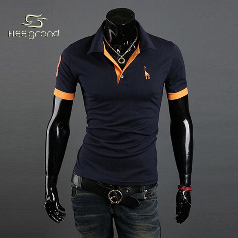 New Man Casual polo Shirt 2015 Men's Slim Fit Stylish Short Sleeve Shirts for man MTP027(China (Mainland))