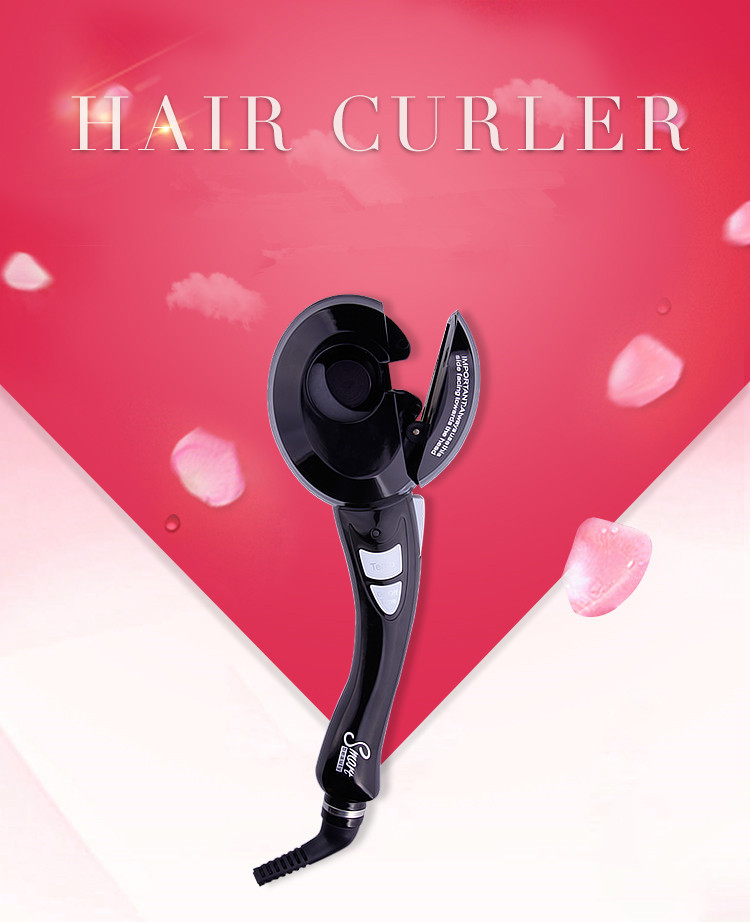 2015 NEW Magic Automatic Curls motor Hair Roller Styling Tools Magic Hair Curler<br><br>Aliexpress