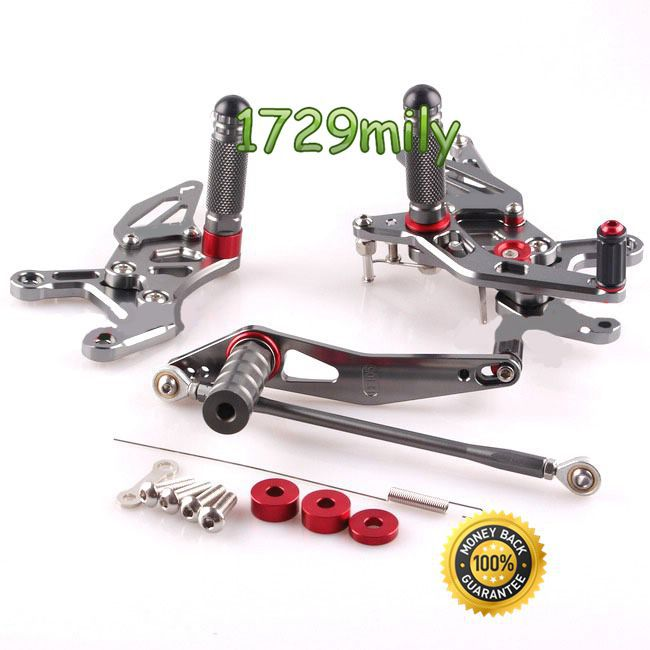 Motorcycle parts Adjustable Rearsets For Yamaha YZF R1 2009 2010 2011 2012 2013 2014 Brand New