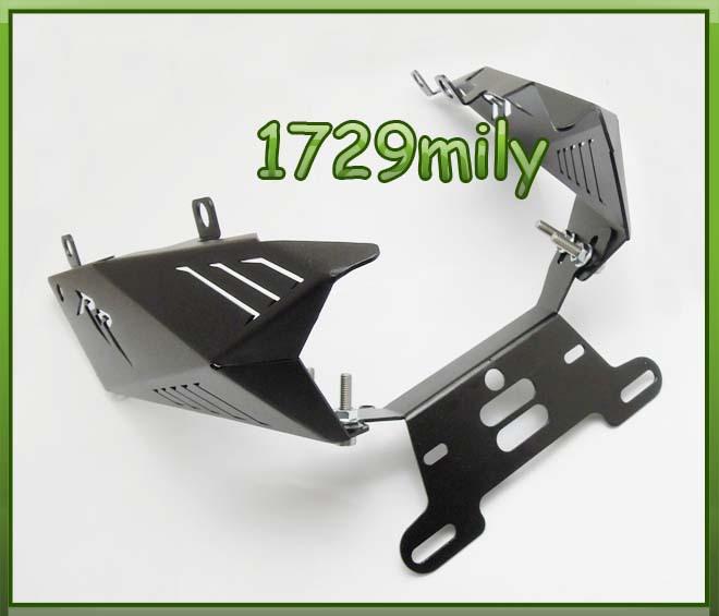 Fender Eliminator Kit License Plate For HONDA CBR600 2007-2012 08 09 10 11 Black<br><br>Aliexpress