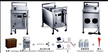 180-200L/hour Oxyhydrogen gas machine,Oxyhydrogen flame generator,Brown gas generator With 2 Torches Free DHL(China (Mainland))
