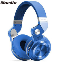 Bluedio T2 + Plus Wireless Bluetooth 4.1 Stereo Headphone Foldable Over the Ear Headset Support TF Card / FM for Smartphone