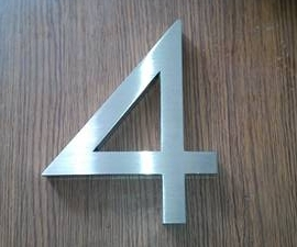 3D Sign Letter stainless steel house / Street Number (custom)H15CM number4<br><br>Aliexpress