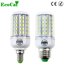 ECO CAT 2017 New Arrival E27 LED Corn Bulb Samsung 5730SMD light 220V 96 LEDs lamp Chandelier Spotlight for indoor lighting(China (Mainland))