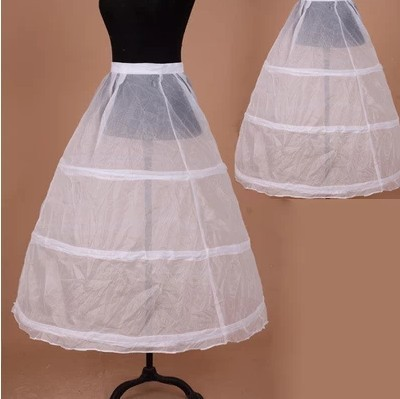 In Stock 3 Hoops Petticoats For Wedding Dress Wedding Accessories Free Shipping Crinoline Cheap Underskirt For Ball Gown 2015(China (Mainland))