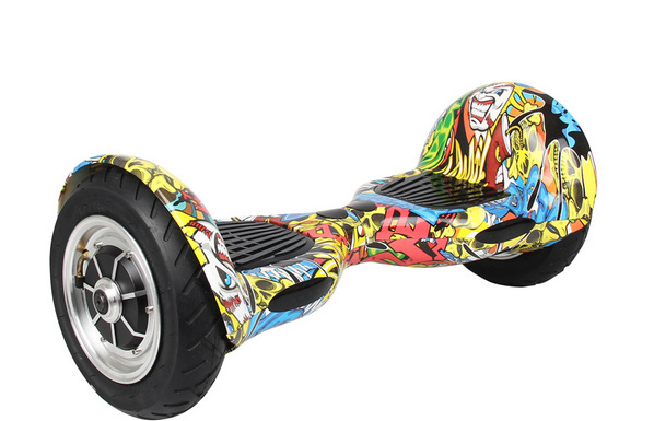 10 inches big tires IO Hawk Electric skate 2 wheel standing Scooter Monorover Hoverboard Self Balancing scooter Smart(China (Mainland))