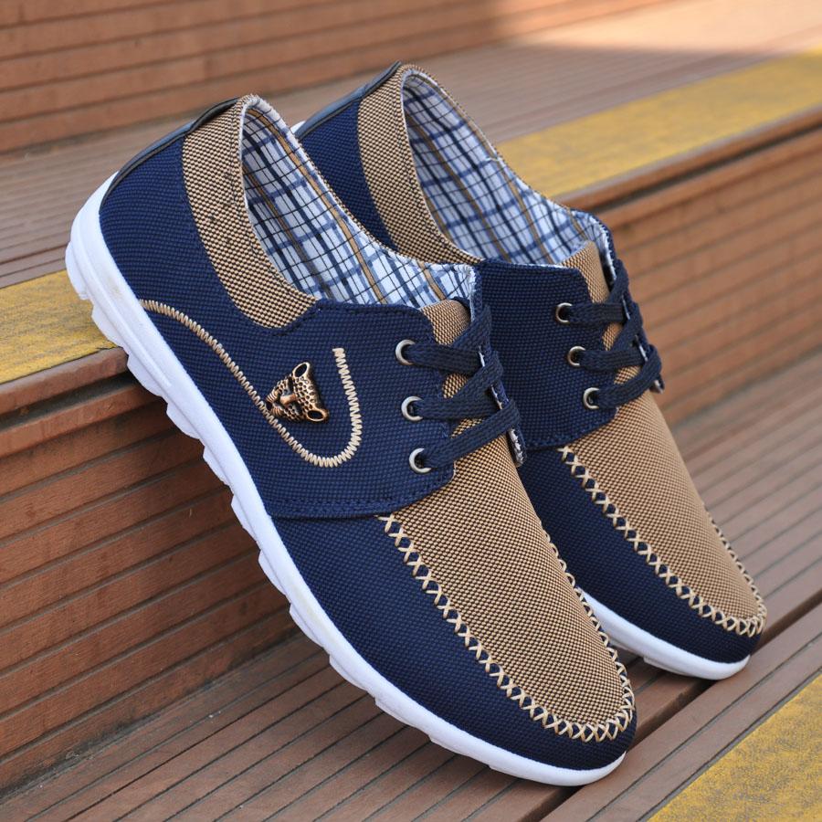 2015 homens sapatos da moda tendência lona sapatos calçados casuais masculinos dos homens baixo lazer sapatos masculinos outono planas respirável zapatillas hombre(China (Mainland))