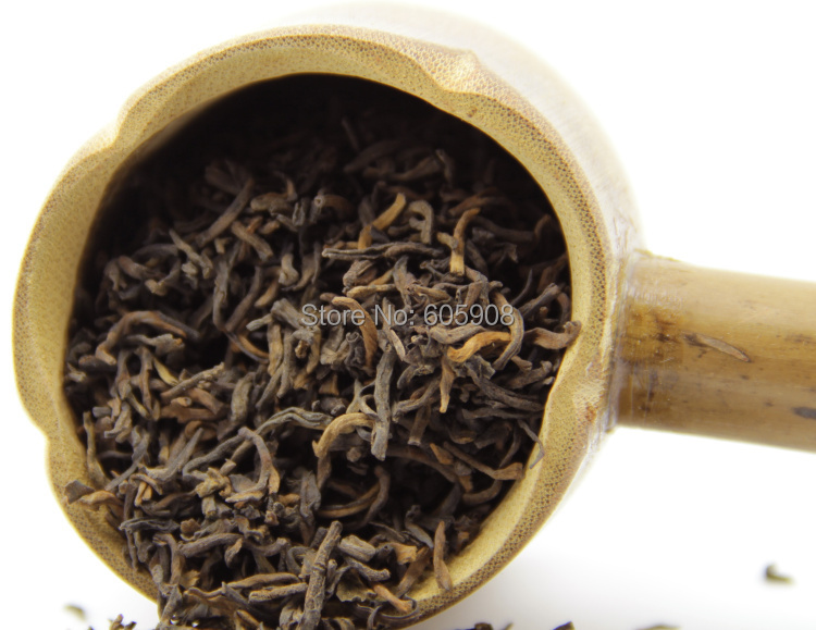250g 2007Year Menghai Flower Royal Court Loose Puer Tea