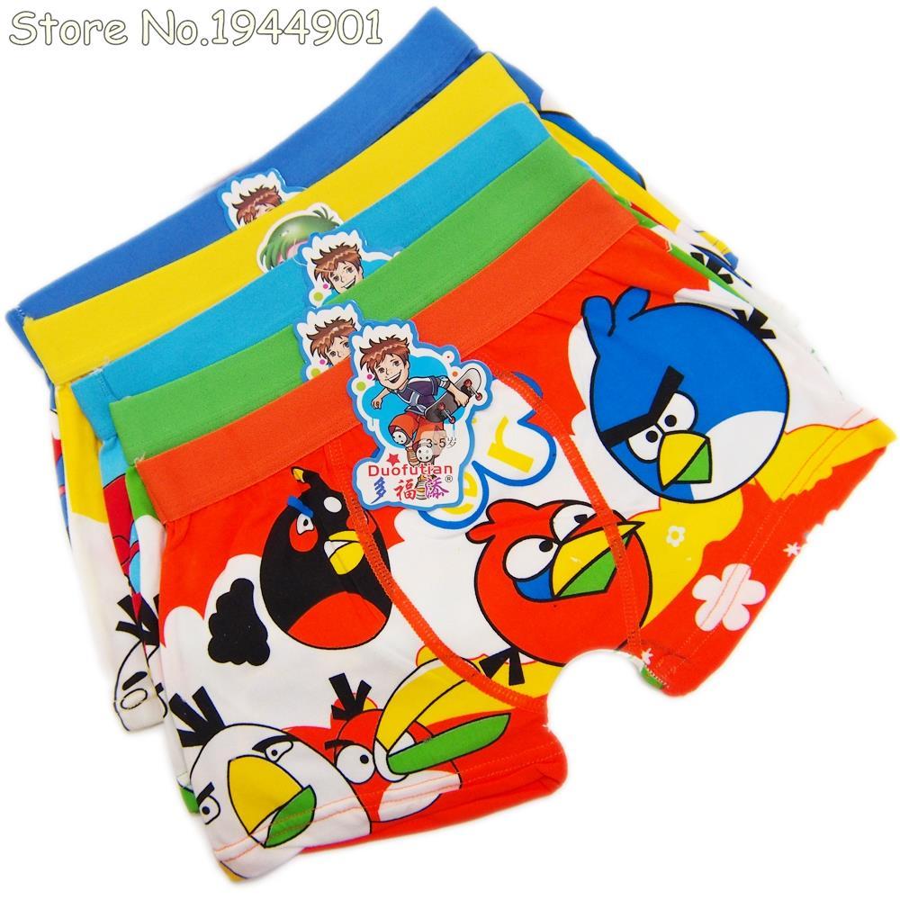 Cartoon Characters Underwear : Pcs child s underwear cotton boxers kids pantines