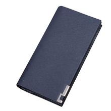 2016 Men Long Wallet zipper ID Credit Card Holder Bifold Purse Top Brand clutch Wallet Pockets Promotion Gift(China (Mainland))