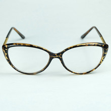 2014 New Design Crescent Style Frame Metal Rhombic Plaid Legs Good Made Optical Glasses For Sexy Lady Retail With Bag And Cloth