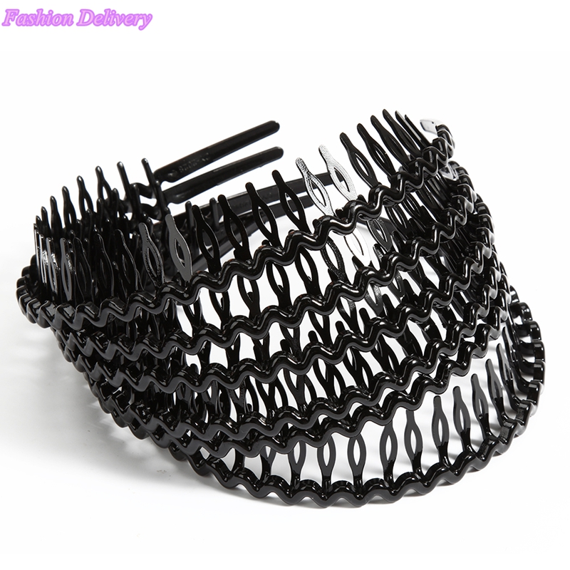 3pcs/lot Black Hair Bows Girls Hair Accessories Korea Style Headbands With Combs Fashion Hair Styling Tools Free Shipping(China (Mainland))