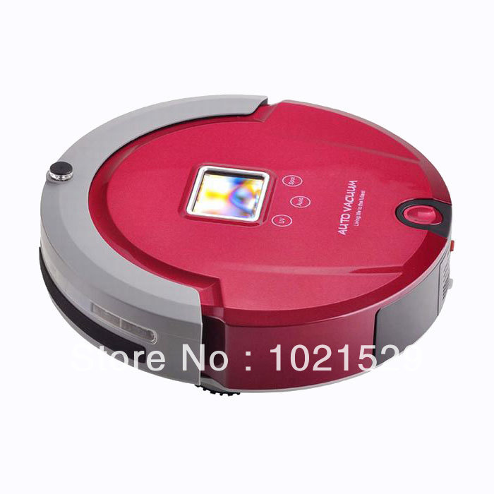 Low Noise Smart Automatic Robotic Vacuum Cleaner Collector Dust Extractor A320 Small Robot Cleaning Machine(China (Mainland))