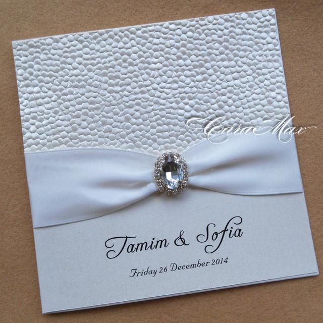 pebble pearlescent paper wedding invitation cards in invitation