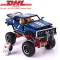 1605Pcs Lepin Technic SUV 4x4 Crawler Exclusive Edition Model Building Kits Blocks Bricks Toy For Children
