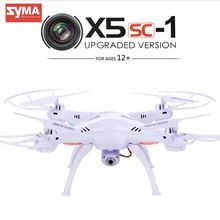 Original Syma x5sc/x5sc-1 2.4G 4CH 6-Axis 2MP Professional aerial RC Helicopter Quadcopter Toys Drone With 2.0MP Camera BD