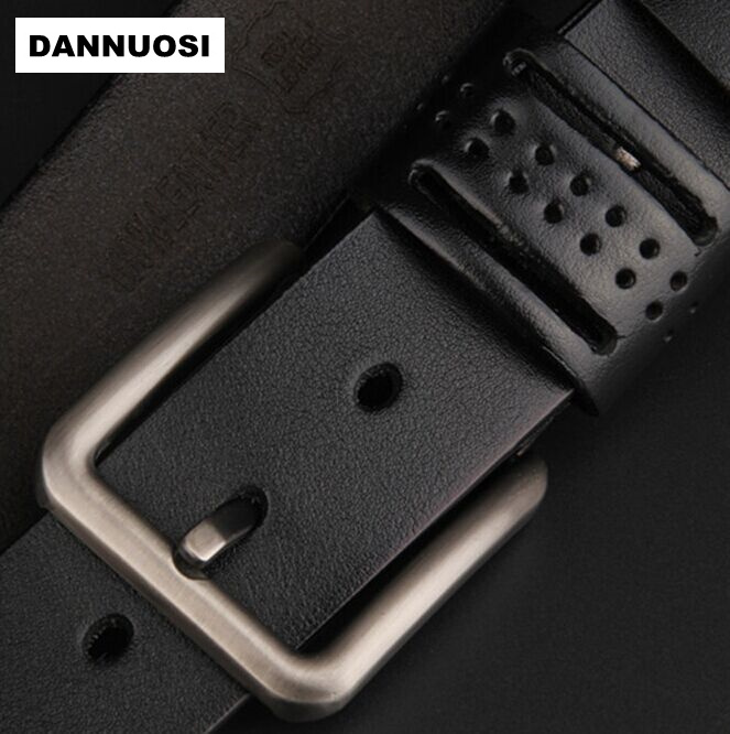 [DANNUOSI] belt High-grade leather men's leather belt new casual men's boutique brand belt wild belt(China (Mainland))