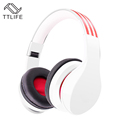 TTLIFE Brand Wireless Stereo Headphones Noise Cancelling Bluetooth Headset Handsfree with Mic for iPhone Smartphone Pk
