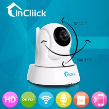 InCliick Wireless 960P IP Security Camera WiFi IP Home Camera Pet/Baby Monitor Surveillance Dog Camera Easy QR CODE Scan Connect(China (Mainland))