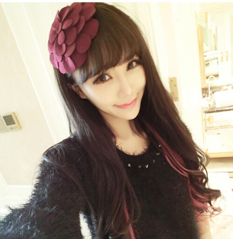 Fashion Women Girls Hair Accessory Big Flower Hair Band Hoop Headbands GiftОдежда и ак�е��уары<br><br><br>Aliexpress
