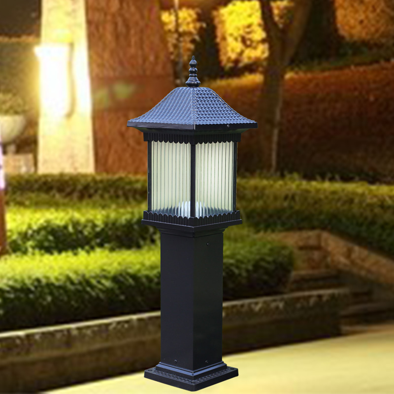 Outdoor Landscape Lighting Garden Post : Lights garden outdoor waterproof lawn lamp dengcao street landscape