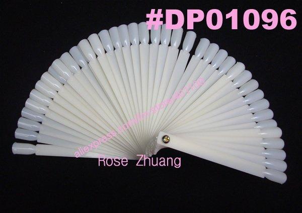 10pcs 50 tips Fan-Shaped Nail Art Display Natural Chart for Polish UV Gel Display Tool DIY Nail Tools Wholesales  SKU:F0027X