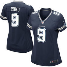 2016 Women Dallas Cowboys #9 Tony Romo #88 Dez Bryant #82 Jason Witten Blue white #21 Ezekiel Elliott, stitched logo(China (Mainland))