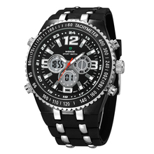 Weide WH1107 Relojes Mujer Relojes deportivos hombres Digital reloj marca Relojes de lujo agua cuarzo de acero inoxidable reloj Ultra delgado