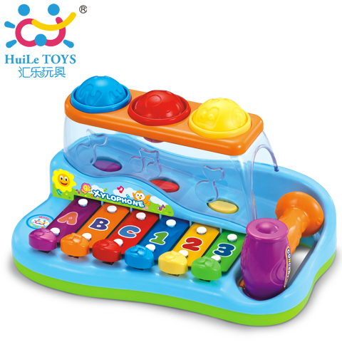 Department of music 856 xylophone music digital letter knock piano knock toy violin(China (Mainland))