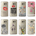 FOR iphone 7 6 6s 5 5s Soft TPU Case Cover For Samsung Galaxy S4 S5 S6 S6 EDGE S7 S7 Edge 100% Full Body Protection Phone