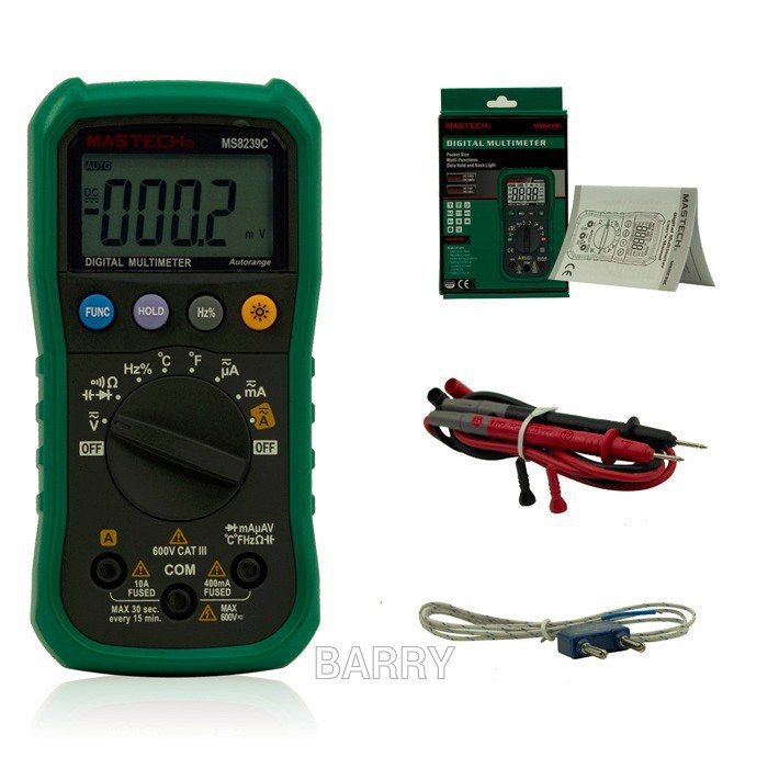 Здесь можно купить  5sets MS8239C Auto range Handheld 3 3/4 Digital Multimeter  AC DC Voltage Current Capacitance Frequency Temperature Tester  Инструменты