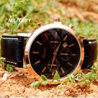 Leather Watch 318