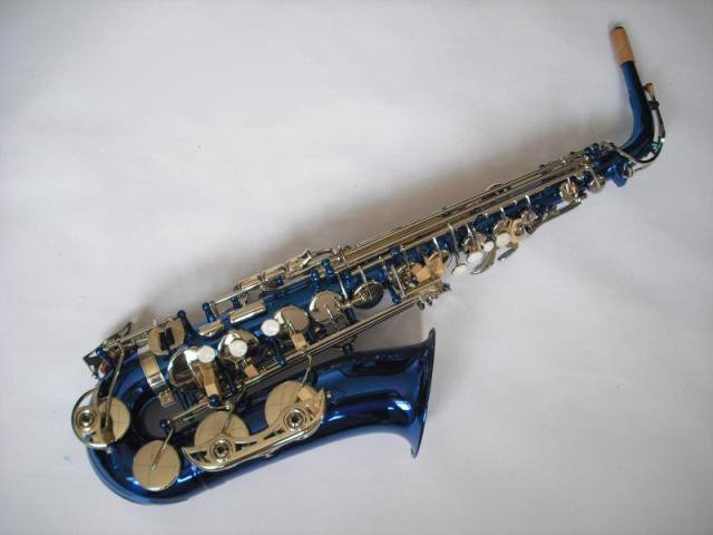 best Professional alto saxophone with Leather case,real Mother of Pearl,Italian pads. in stock