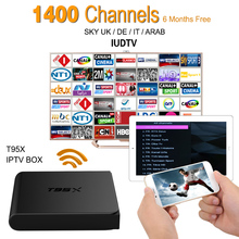 Buy Europe IPTV Box Android 6.0 TV Box Sky IPTV Receiver & 1700+ Sky Arabic French Turkish Netherlands Channels Strong wifi Tv Box for $109.99 in AliExpress store