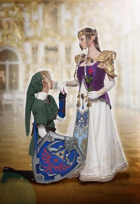 Custom Made movie The Legend Of Zelda Princess Zelda Commission Cosplay Costume Twilight cosplay costume
